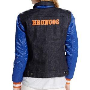 🏈 Levi's NFL Denver Broncos Denim Trucker Jacket